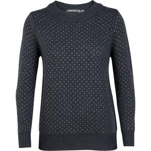 Icebreaker Waypoint Rundhals-Sweater Damen char heather char heather