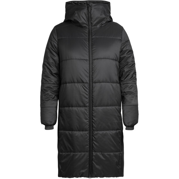 Icebreaker Collingwood 3Q Kapuzenjacke Damen black