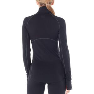Icebreaker 200 Zone Langarm Half-Zip Shirt Damen black black