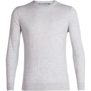 Icebreaker Shearer Rundhals Sweater Herren steel heather steel heather