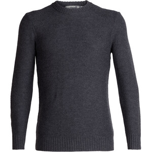 Icebreaker Waypoint Rundhals-Sweater Herren char heather char heather