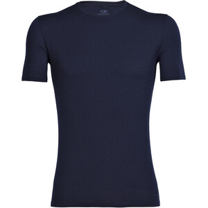 Icebreaker Anatomica T-shirt Col ras-du-cou Homme, bleu bleu