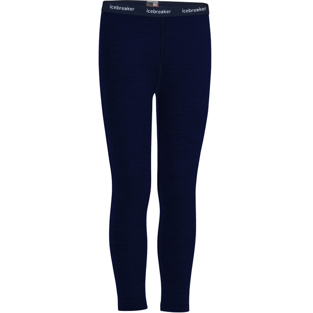 Icebreaker 260 Tech Leggings Kinder midnight navy