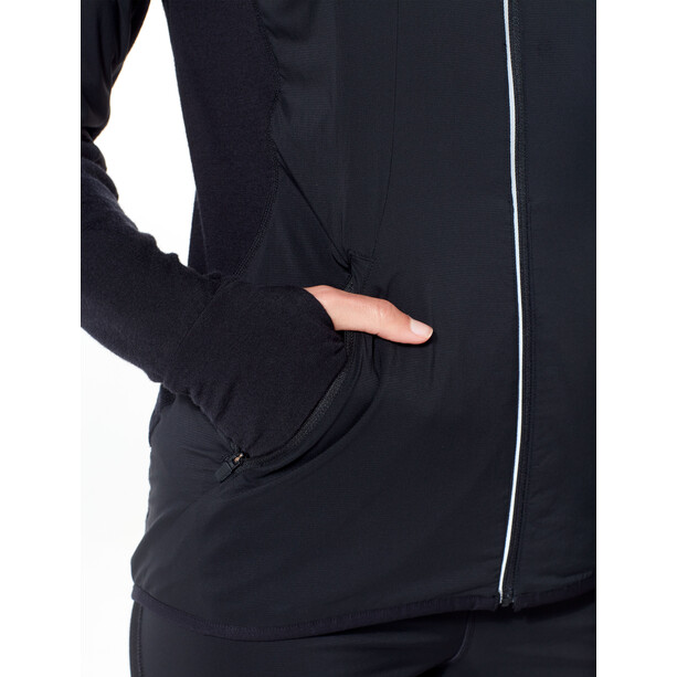 Icebreaker Tech Trainer Hybrid Jacket Dam black