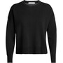 Icebreaker Carrigan Reversible Sweater Sweatshirt Dam Black