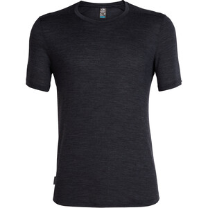 Icebreaker Sphere SS Crewe Shirt Herr black heather black heather