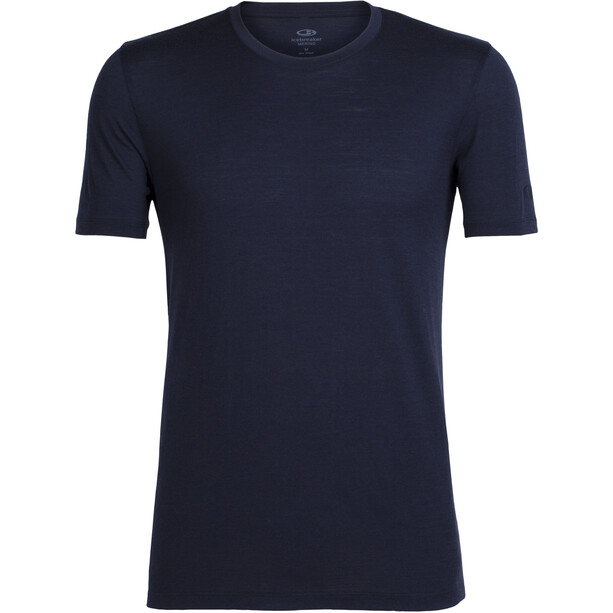 Icebreaker Tech Lite SS Crewe Shirt Herr midnight navy