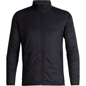 Icebreaker Hyperia Lite Hybrid Jacket Herr Black Black