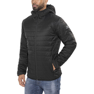 Icebreaker Hyperia Hooded Jacket Herr Black Black