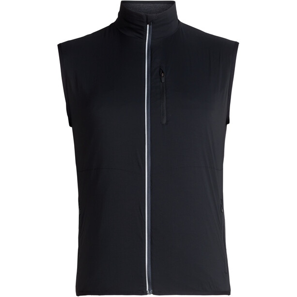 Icebreaker Tech Trainer Hybrid Vest Herr black/jet heather
