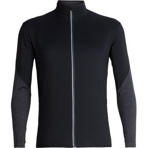 Icebreaker Tech Trainer Hybrid Jacket Herr black/jet heather black/jet heather