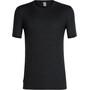 Icebreaker Solace SS Crewe Shirt Herr black
