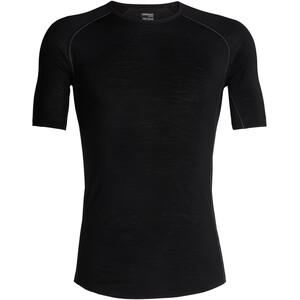 Icebreaker 150 Zone SS Crewe Shirt Herr svart svart