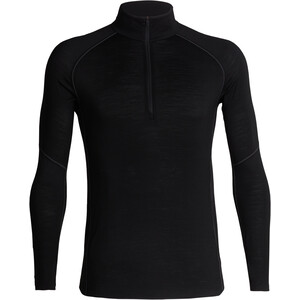 Icebreaker 150 Zone LS Half Zip Shirt Herr svart svart