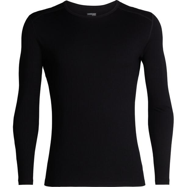 Icebreaker 260 Tech LS Crewe Shirt Herr black