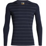 stripe midnight navy