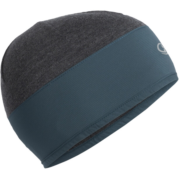 Icebreaker Tech Trainer Hybrid Beanie nightfall/jet heather