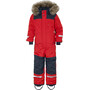DIDRIKSONS Björnen Coverall Kinder chili red