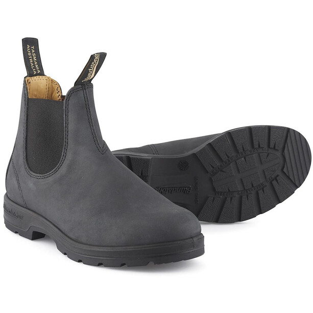 Blundstone 587 Shoes Rustic Black