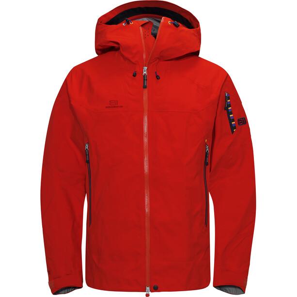 Elevenate Bec de Rosses Jacket Herr Red Glow