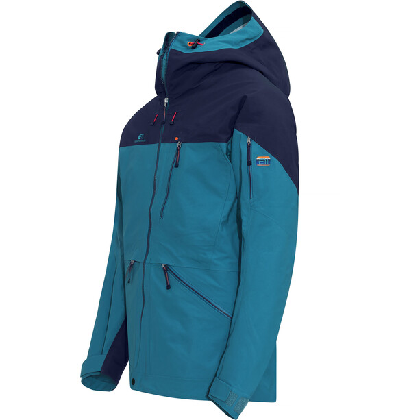 Elevenate Backside Jacket Herr Blue Sapphire