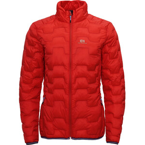 Elevenate Motion Down Jacket Dam Red Glow Red Glow