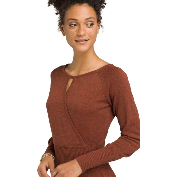 Prana Sonatina Kleid Damen chai heather