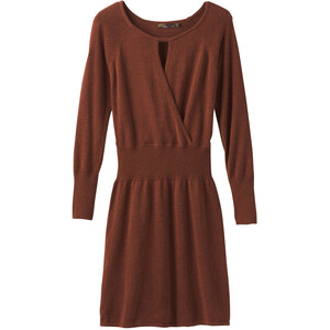 Prana Sonatina Kleid Damen chai heather chai heather