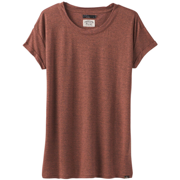 Prana Cozy Up T-Shirt Damen chai heather
