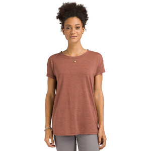 Prana Cozy Up T-Shirt Damen chai heather chai heather