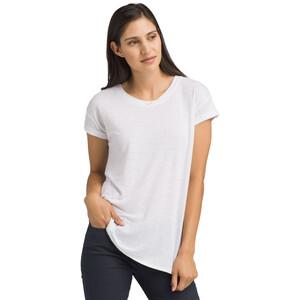 Prana Cozy Up Kurzarm T-Shirt Damen white white
