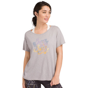 Prana Chez T-Shirt Damen heather grey breathe heather grey breathe