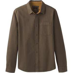 Prana Woodman Flanellhemd Herren rich brown rich brown