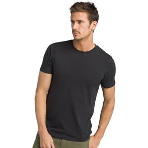 Prana Rundhals T-Shirt Herren black black