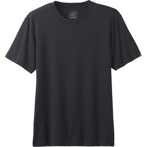 Prana Rundhals T-Shirt Herren schwarz schwarz