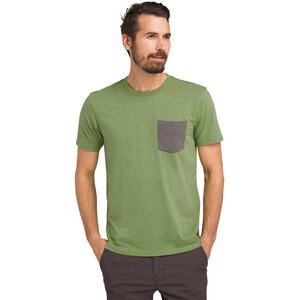 Prana Pocket T-Shirt Herren matcha heather matcha heather