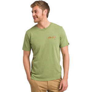 Prana Desert Air T-Shirt Herren matcha heather matcha heather