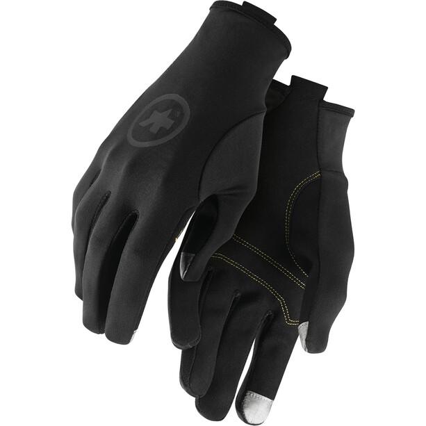 assos Frühling/Herbst Handschuhe black series