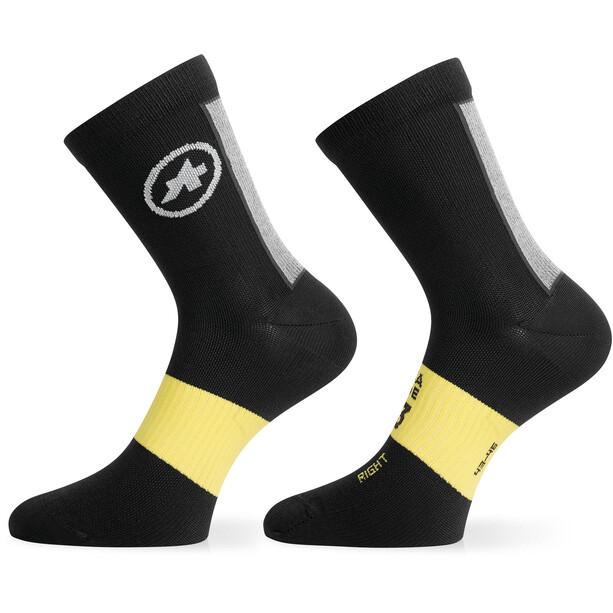 ASSOS Assosoires Frühling/Herbst Socken black series