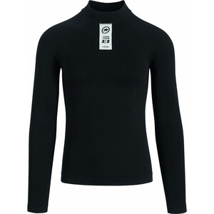 assos Skinfoil Winter Langarm Baselayer black series black series
