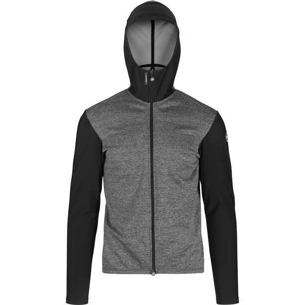ASSOS Trail Spring Fall Hooded Jacket Herre Grå/Svart