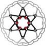 ASHIMA ARO-10 AiNeon Bremsscheibe 6-Loch schwarz/silber