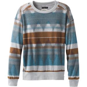 Prana Cozy Up Printed Sweatshirt Dam Blue Note Eldorado Blue Note Eldorado
