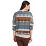 Prana Cozy Up Printed Sweatshirt Dam Blue Note Eldorado