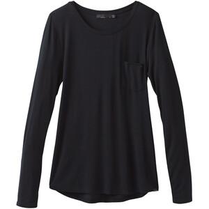 Prana Foundation Longsleeve Shirt Crew Dam Black Black