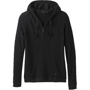 Prana Milani Hoodie Dam Black Heather Black Heather