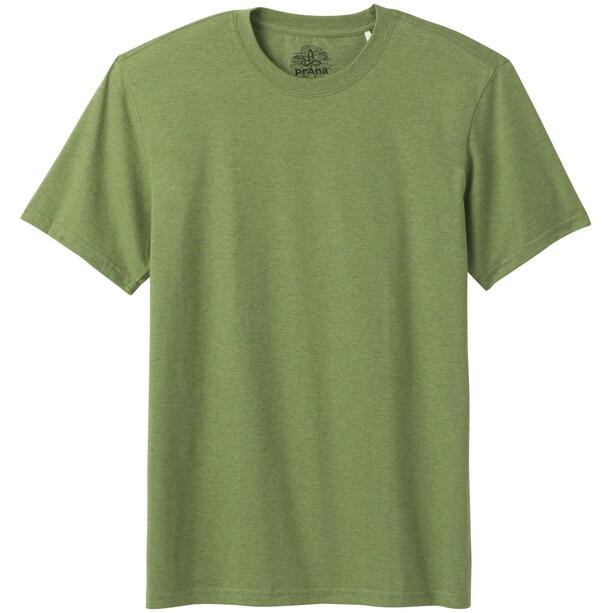 Prana Crew T-Shirt Herr Matcha Heather