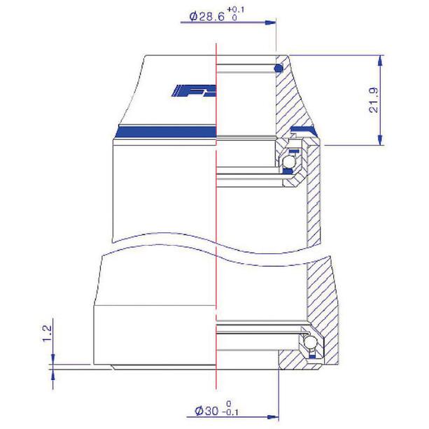Cube FSA Orbit Z-t Hodesett ZS49 / 28.6 I IS52 / 30 og IS52 / 40