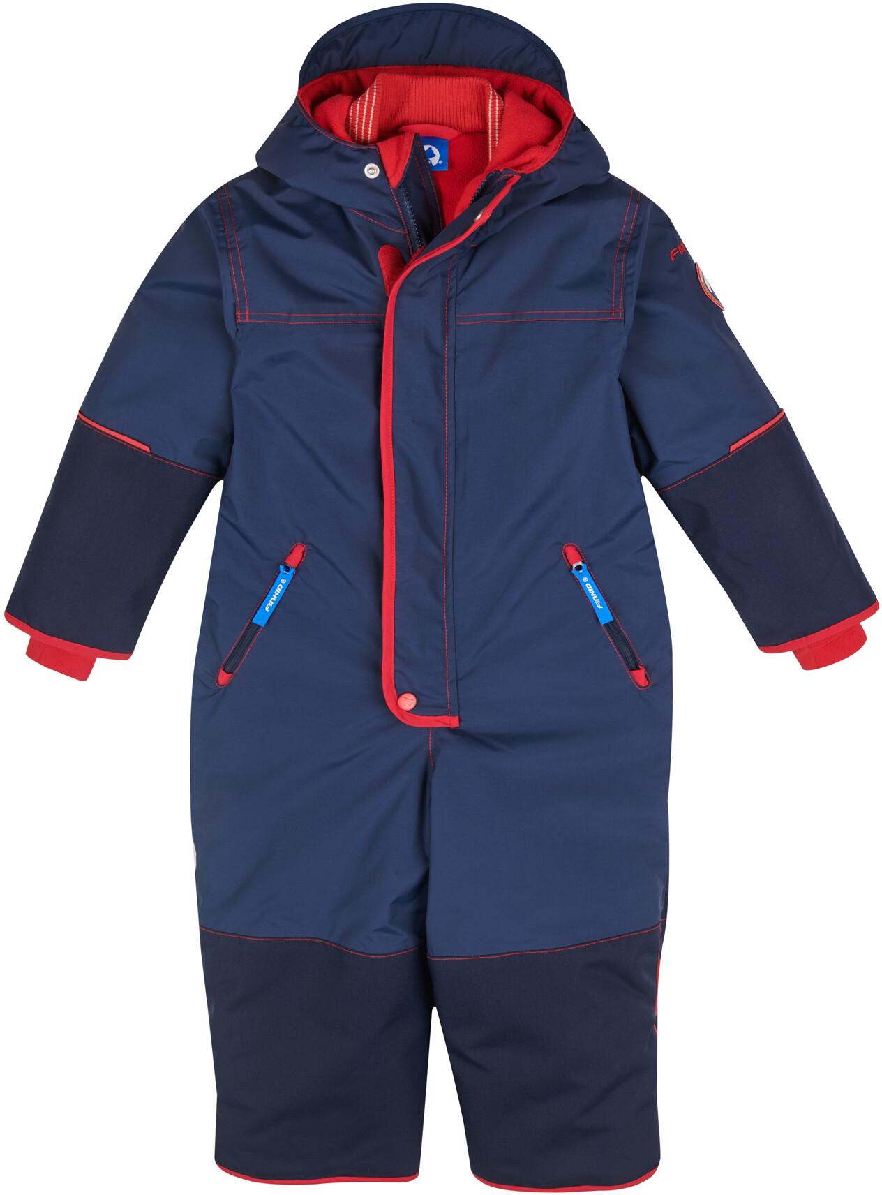 Finkid Pikku Winter navy red Kinder Ski /& Schneeanzug Winter Outdoor Overall