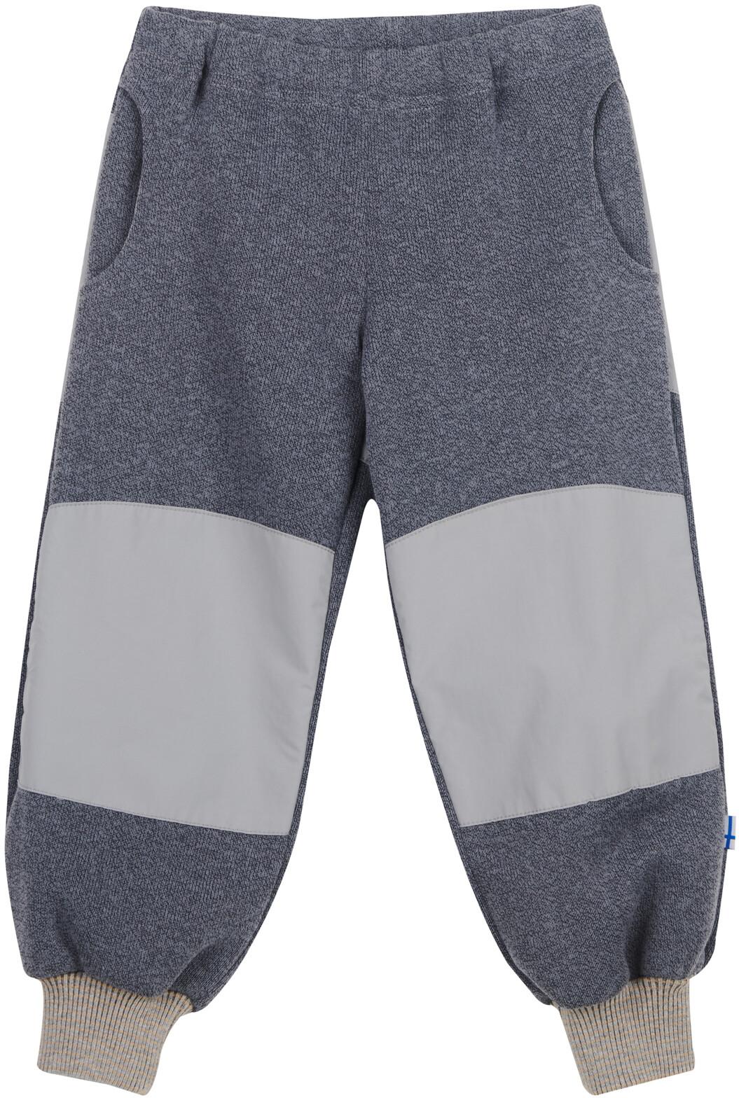 Herre One color French Sweat Shorts Snow Melange fra Les